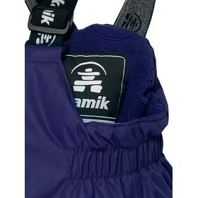 Kamik Winkie Solid Housut Lapset, navy/marine